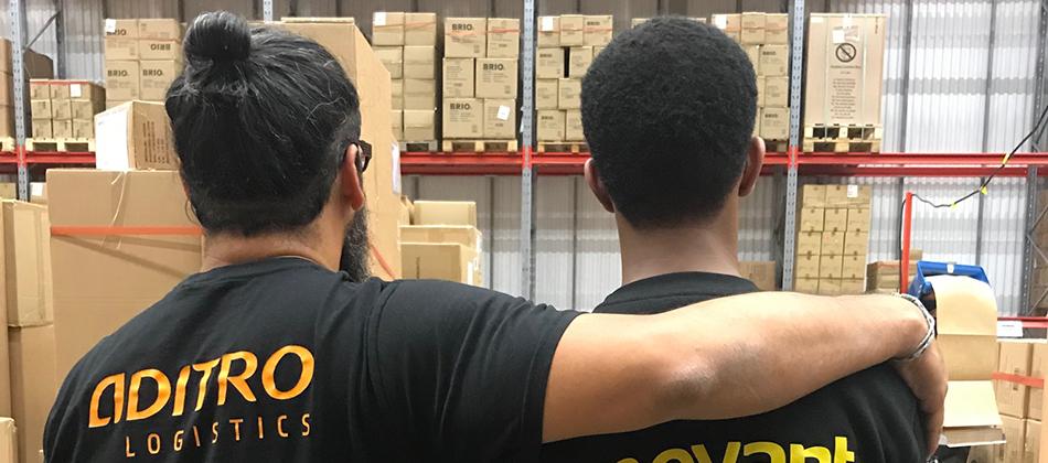 Aditro Logistics och Movant i samarbete för att skapa jobb 950x420