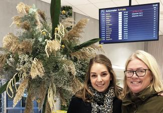 Movants florister ställer ut på Bromma flygplats
