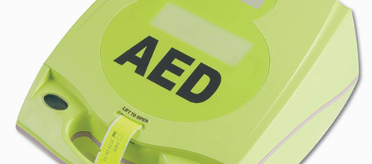 Bild hjärtstartare Zoll AED Plus