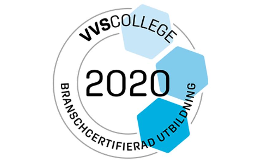 Logotyp VVS College 2020
