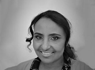 Porträtt Huda Jaber
