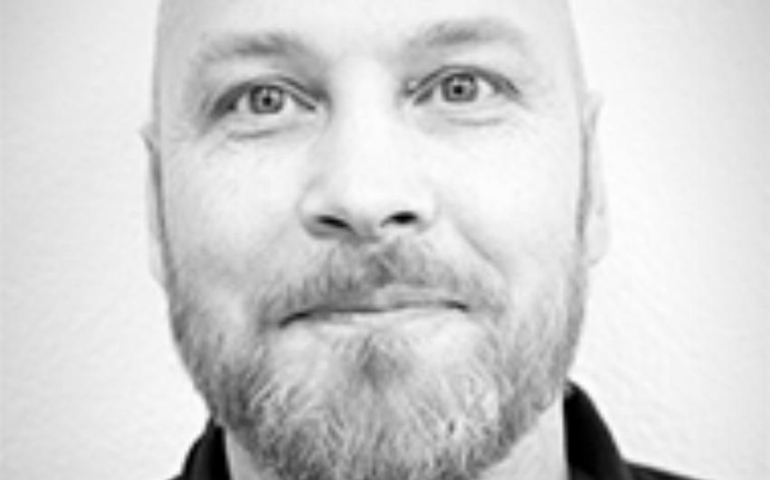 Porträtt Mattias Berghäll